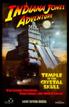 #attraction_poster #TOKYO_DISNEYLAND #Tokyo_Disney_Sea #LOST_RIVER_DELTA #Indiana_Jones_Adventure #東京ディズニーシー #インディ_ジョーンズ