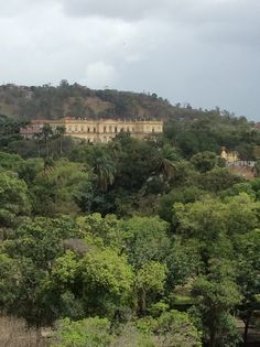 Ancient Brazilian Imperial Palace, mangled by republicans, actualy a natural history museum, Rio de Janeiro