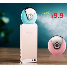 $14.99 (Buy here: https://alitems.com/g/1e8d114494ebda23ff8b16525dc3e8/?i=5&ulp=https%3A%2F%2Fwww.aliexpress.com%2Fitem%2F2016-Newest-Mini-USB-Mobile-Moisture-Supplier-Face-Humidifier-Nano-Mist-Face-Steamer-Mist-Maker-Fogger%2F32686150293.html ) 2016 Newest ! Mini USB Mobile Moisture Supplier Face Humidifier Nano Mist Face Steamer Mist Maker Fogger Beauty Replenishment for just $14.99