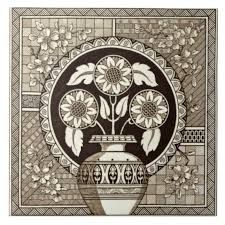 Image result for victorian aesthetic Warm Color Schemes, Victorian Tiles, Different Kinds Of Art, Floral Theme, Geometric Background, Egyptian Art, White Aesthetic, Tile Art, Wall Art Decor
