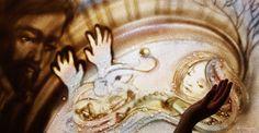 """Un monde de rêves. L'inspiration de la musique de Debussy """"Children's Corner"""". Katerina Barsukova, sand-artiste."""