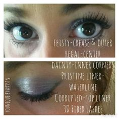 Mineral pigments, Splurge Cream Shadow, Moodstruck Precision Pencils, 3D Fiber Lashes-Pure Younique!!  Browse our cruelty free products here: www.youniqueproducts.com/krystnmacay