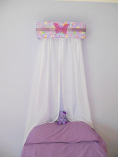 Butterfly Bed Crown Upholstered Canopy Teesters by The Swank Baby