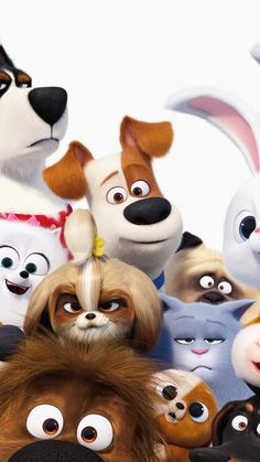 The Secret Life of Pets 2 Phone Wallpaper - The Secret Life of Pets 2 2 celulares Disney Phone Wallpaper, Cartoon Wallpaper Iphone, Movie Wallpapers, Cute Cartoon Wallpapers, Images Murales, Pets Movie, Secret Life Of Pets, Character Wallpaper, Disney Art