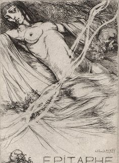 Luc Lafnet (1899 – 1939, Belgian) | LA CONCHIGLIA DI VENERE