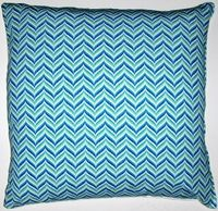 OC42 Printed organic cotton  bargello pillow cover. Eco friendly pillow