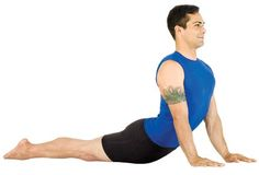 Chest opening and backbending sequence, from Yoga Journal