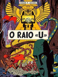 O Raio U - Uma Aventura de Blake e Mortimer de Edgar P. Jacobs. Lançamento banda desenhada por Edições ASA em português, outubro 2020. #bandadesenhada #blakemortimer #bdleakspt