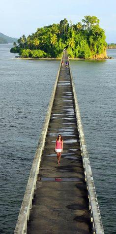 Beautiful bridge in Samana Bay   Dominican Republic Free Travel Guide