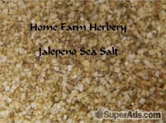 Jalapeno Sea Salt, Order now, FREE shipping in San Francisco CA - Free San Francisco SuperAds