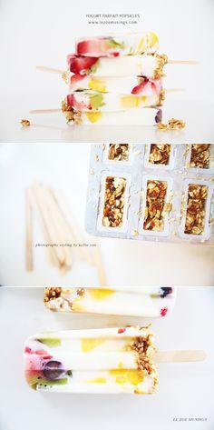 Yogurt Parfait Popsicles by Le Zoe Musings 3