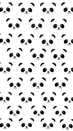 Pin by savannah jack on wallpaper in 2019 Cute Panda Wallpaper, Cute Patterns Wallpaper, Bear Wallpaper, Emoji Wallpaper, Kawaii Wallpaper, Cute Wallpaper Backgrounds, Wallpaper Iphone Cute, Pretty Wallpapers, Wallpaper Samsung