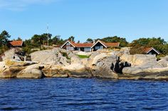 Summer cabin - Kragerø Summer Cabins, Cottages, Norway, Real Estate, Mansions, House Styles, Winter, Winter Time, Cabins