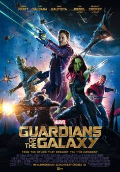 The Guardians of the Galaxy DVD 17,95€
