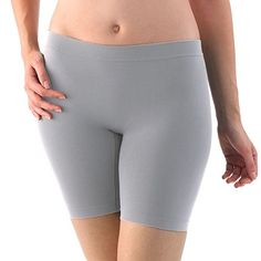 Redefine your intimates wardrobe with Jockey slipshorts. Featuring the smooth look of a slip with the comfortable movement and extra coverage of shorts, this women's slipshort gives you the best of both worlds. Boy Shorts, Gym Shorts Womens, Cotton Style, Comfortable Shoes, Bell Bottoms, Thighs, Fashion Outfits, My Style, Swimwear