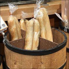 Barrel Pegboard Dividers for Bakery Display