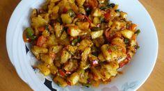 Gebratene Kartoffelpfanne – Haşlanmış Patates Kavurması