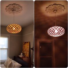 ✰ ✰ ✰ SPOTTED ✰ ✰ ✰  Two versions of the same KINA. The difference a day makes ...  Image by Serena Ingre via instagram #lighting