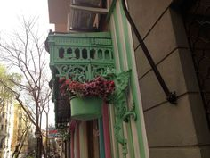 balconera #azulverdecasigris