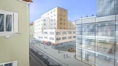 Storyboard, Gerhard, Illustrator, Multi Story Building, Layout, Page Layout, Illustrators