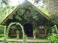 Selva Negra Coffee Plantation - Matagalpa, Nicaragua...beautiful little church before the trails.