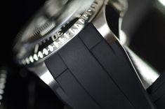 Introducing The Rubber B Rolex Deepsea Glidelock Watch Strap Luxury Items