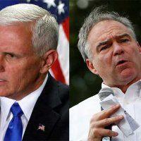 Kaine y Pence los vicepresidenciables eclipsados y el debate de hoy - Excélsior