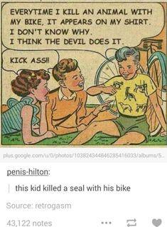 i think the devil does it Dankest Memes, Funny Memes, Jokes, Funny Cute, Hilarious, Pokemon, Funny Tumblr Posts, Funny Comics, Puns