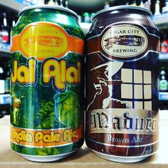 Jai Alai - 7.5% IPA & Maduro - 5.5% Brown Ale from @cigarcitybrewing available now