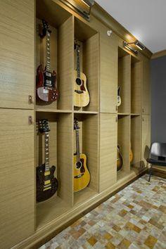 Guitar Room Design