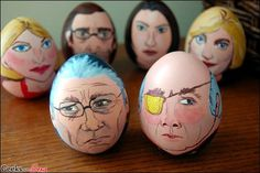 Battlestar Galact-egg-a: Geeking Out With Easter Decorations | Geeks are Sexy Technology News