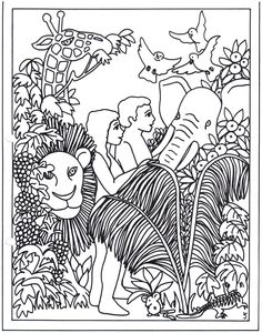 follow the prophet coloring page - 1000 images about bible ot adam and eve on pinterest