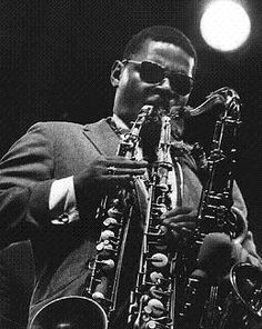 Rahsaan Roland Kirk....never be another sax man like him. 3 reeds at one time!