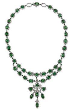 Tsavorite Garnet Necklace  David Youssoufian  Christie's