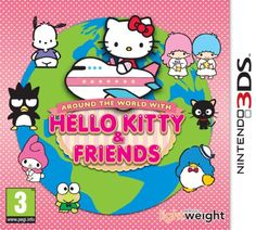 From 3.50:Around The World With Hello Kitty And Friends (nintendo 3ds)
