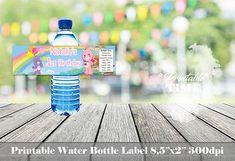 Care Bears water bottle labels Care Bears bottle label Care
