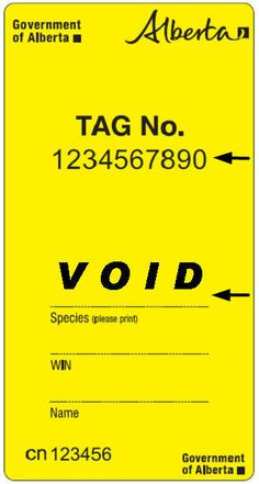 Yellow Void Tag