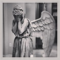 Don't blink!  Amazing Weeping Angel Cosplay that I saw :)