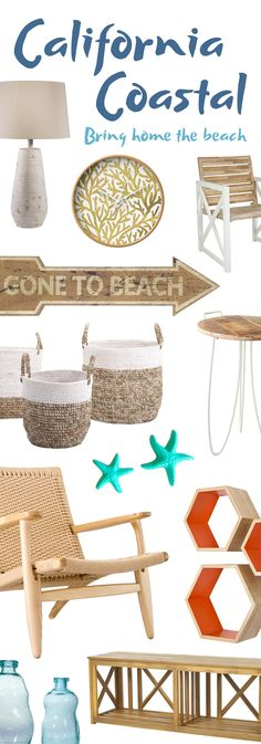 California Coastal Furniture & Décor | Shop Now at dotandbo.com