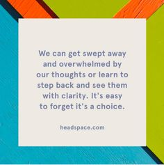 """""""Headspace has rescued me in the past year. I used to believe that if I thought out all of the possible bad scenarios, then I would be more prepared when they happened. Headspace has trained my brain to hear an anxious thought and check myself by saying, 'What good is this doing me?' I'd realize 'none,' and stop before I got too far down the rabbit hole of my brain.""""—aftonm3""""I use this app called What's Up? (Not WhatsApp). It has exercises to help get you back in the moment. You can also…"""