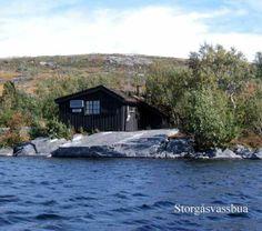 Cabin in Norway for rent. Go fishing from the livingroom https://www.inatur.no/hytte/50f2fcbde4b0adea30743b57/storgasvassbua-nr-3-i-namsskogan-fjellstyre | Inatur.no