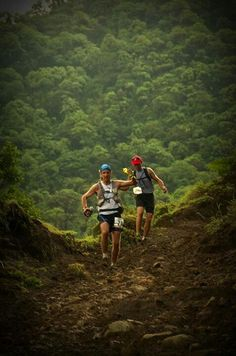 Trail running , Costa Rica