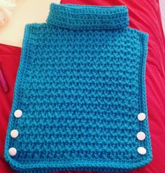 The Perfect Stitch.: Cozy Pullover - I made this super cute, beautifully textured Toddler Poncho, Kids Poncho, Crochet Toddler, Crochet Girls, Crochet For Kids, Crochet Baby Dress Free Pattern, All Free Crochet, Crochet Poncho Patterns, Baby Patterns
