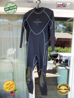 ¤ Scubapro Profile ¤ Nylon Neoprene 0.5mm Wetsuit Undersuit L (LARGE) ¤ 52 Men ¤…