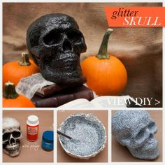 My husband's favorite of Skull so it will be great for Halloween by outside once all of any glitters on it !