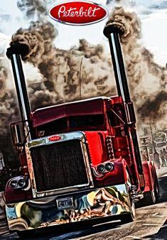 Lifted Chevy Trucks, Ford Pickup Trucks, Big Rig Trucks, Dump Trucks, Show Trucks, Peterbilt 379, Peterbilt Trucks, Customised Trucks, Custom Trucks