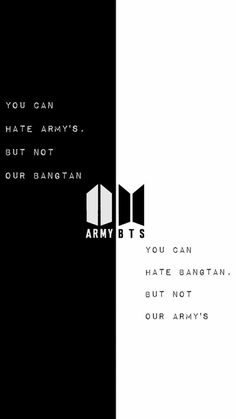 Army and bts is not only an idol and fan relationship but a family relationship
