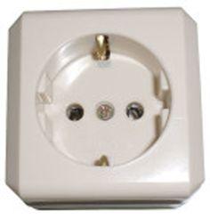 """OB STOP KONTAK """"BROCO"""" 1541 Stop kontak merupakan komponen listrik yang berfungsi sebagai muara hubungan antara sumber listrik dan alat listrik.Untuk menghubungkan keduanya diperlukan sebuah kabel dan steker atau colokan yang nantinya dihubungkan atau ditancapkan pada stop kontak."""