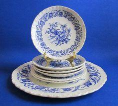 Wedgwood Cornflower Blue of Etruria England by euphoriaresale, $24.00
