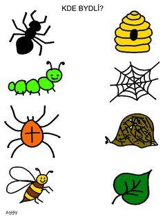 Bug Activities, Library Activities, Educational Activities For Kids, Kindergarten Activities, Infant Activities, Preschool Assessment, Preschool Worksheets, Preschool Crafts, Five Senses Preschool